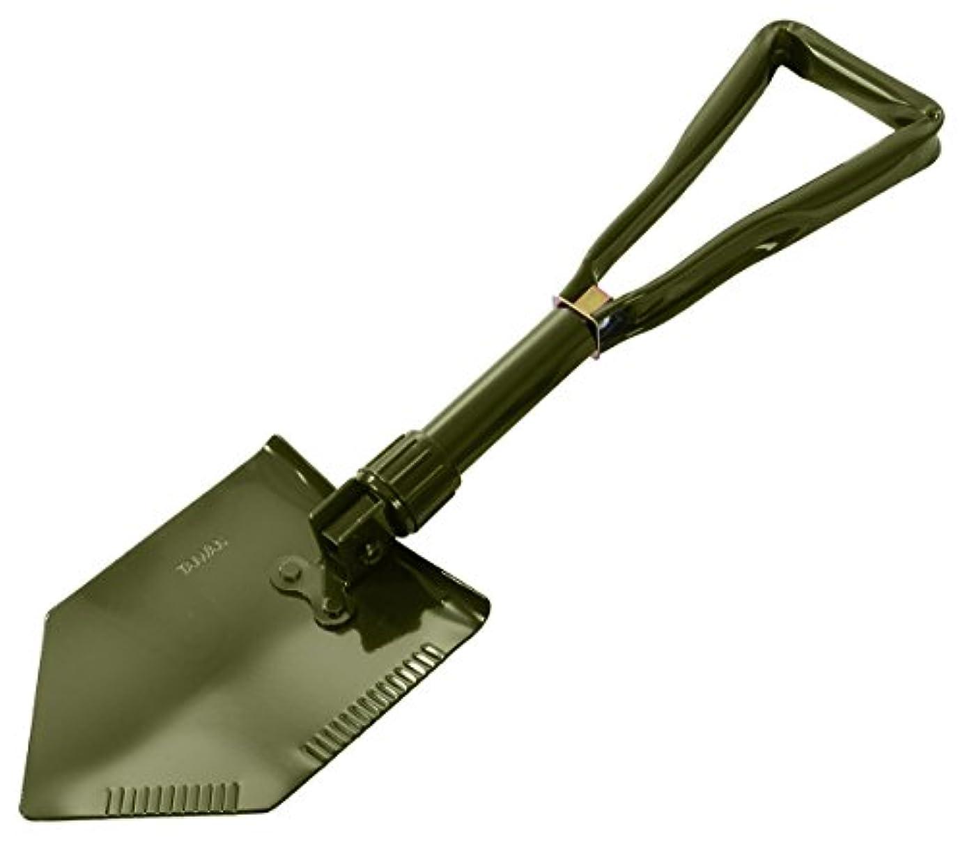 ミニチュア力学恩赦Rothco Deluxe Tri-Fold Shovel