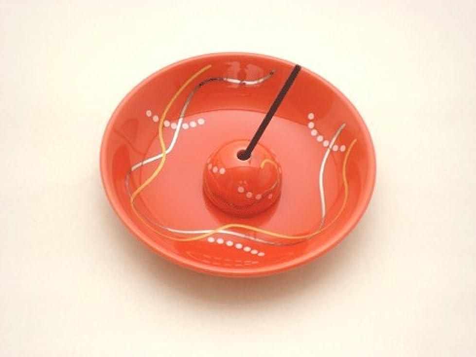 ライセンス可決と【香立て】 おしゃれな香皿 「華かんざし 薄紅」