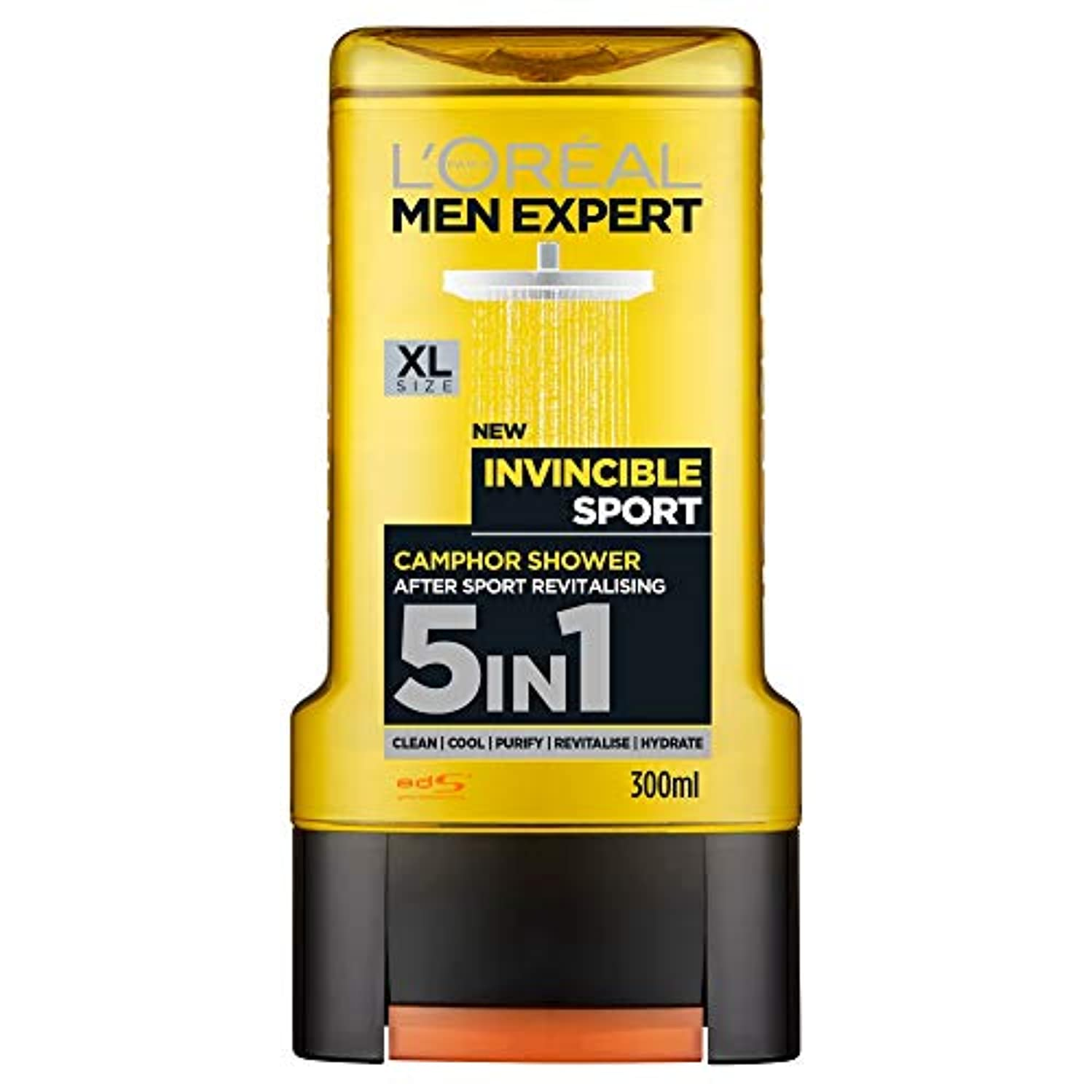 滑り台描く昆虫ロレアル Men Expert Shower Gel - Total Clean (For Body, Face, Hair, Shaving & Moisturizing) 300ml/10.1oz並行輸入品