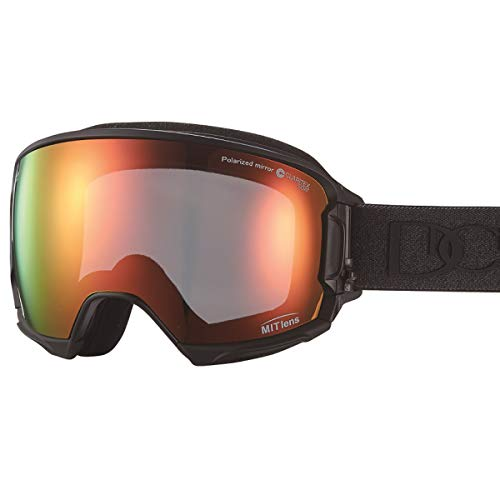 【国産ブランド】DICE(ダイス) スキー スノーボード ゴーグル ハイローラー 剥がれない MITミラー 偏光 プレミアムアンチフォグ HR80892MBK