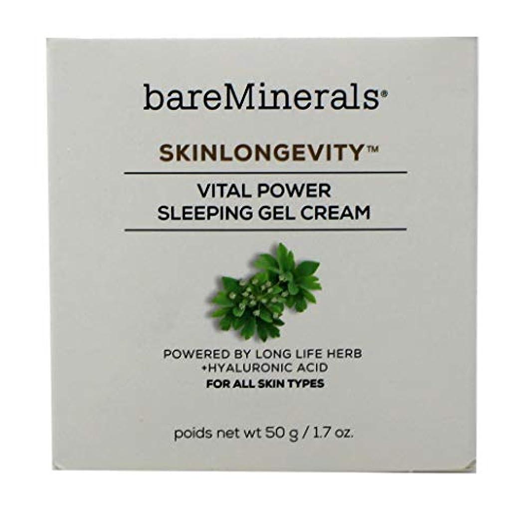 揮発性指紋すずめベアミネラル Skinlongevity Vital Power Sleeping Gel Cream 50g/1.7oz並行輸入品