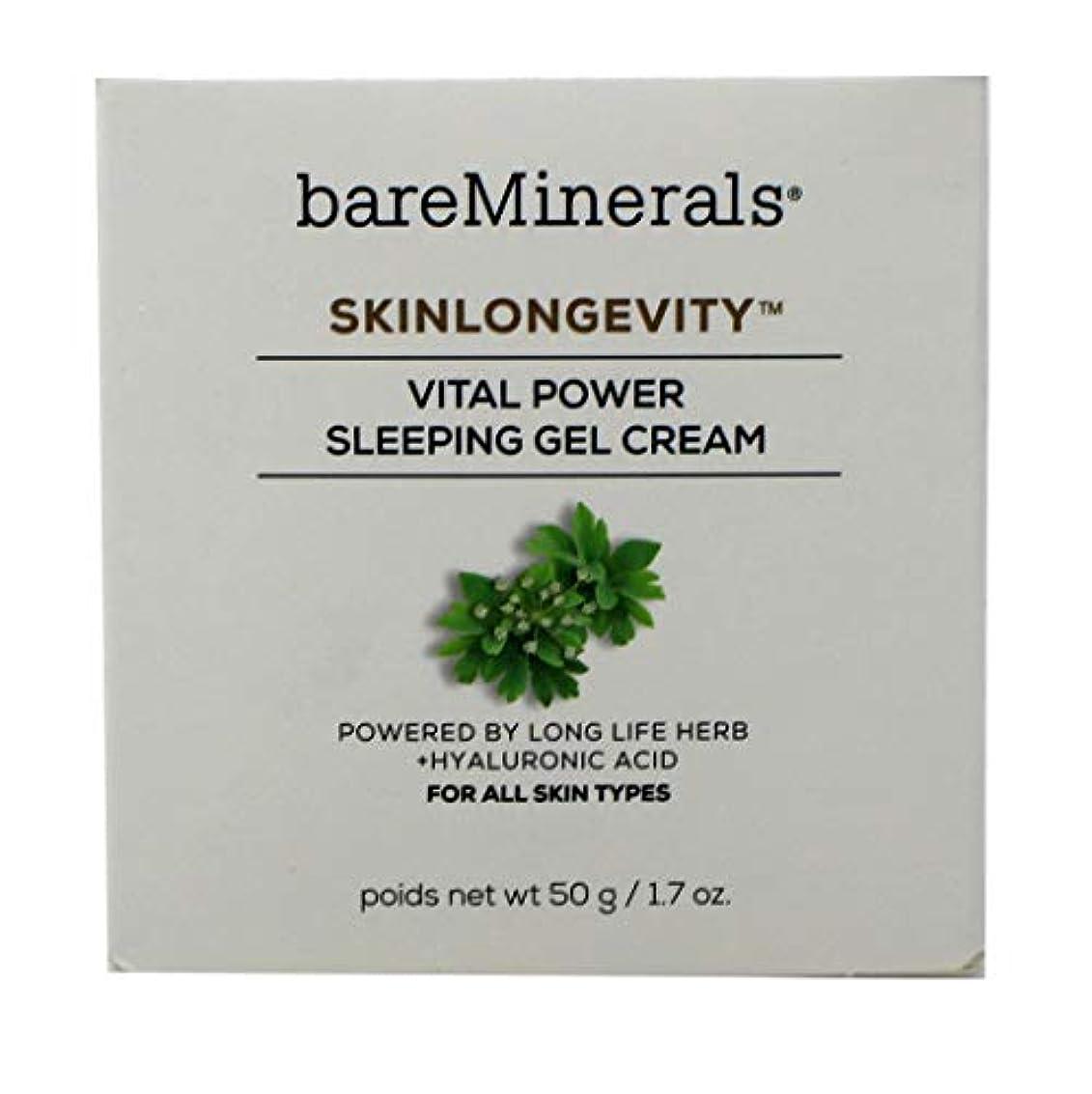 利得ナチュラル国勢調査ベアミネラル Skinlongevity Vital Power Sleeping Gel Cream 50g/1.7oz並行輸入品