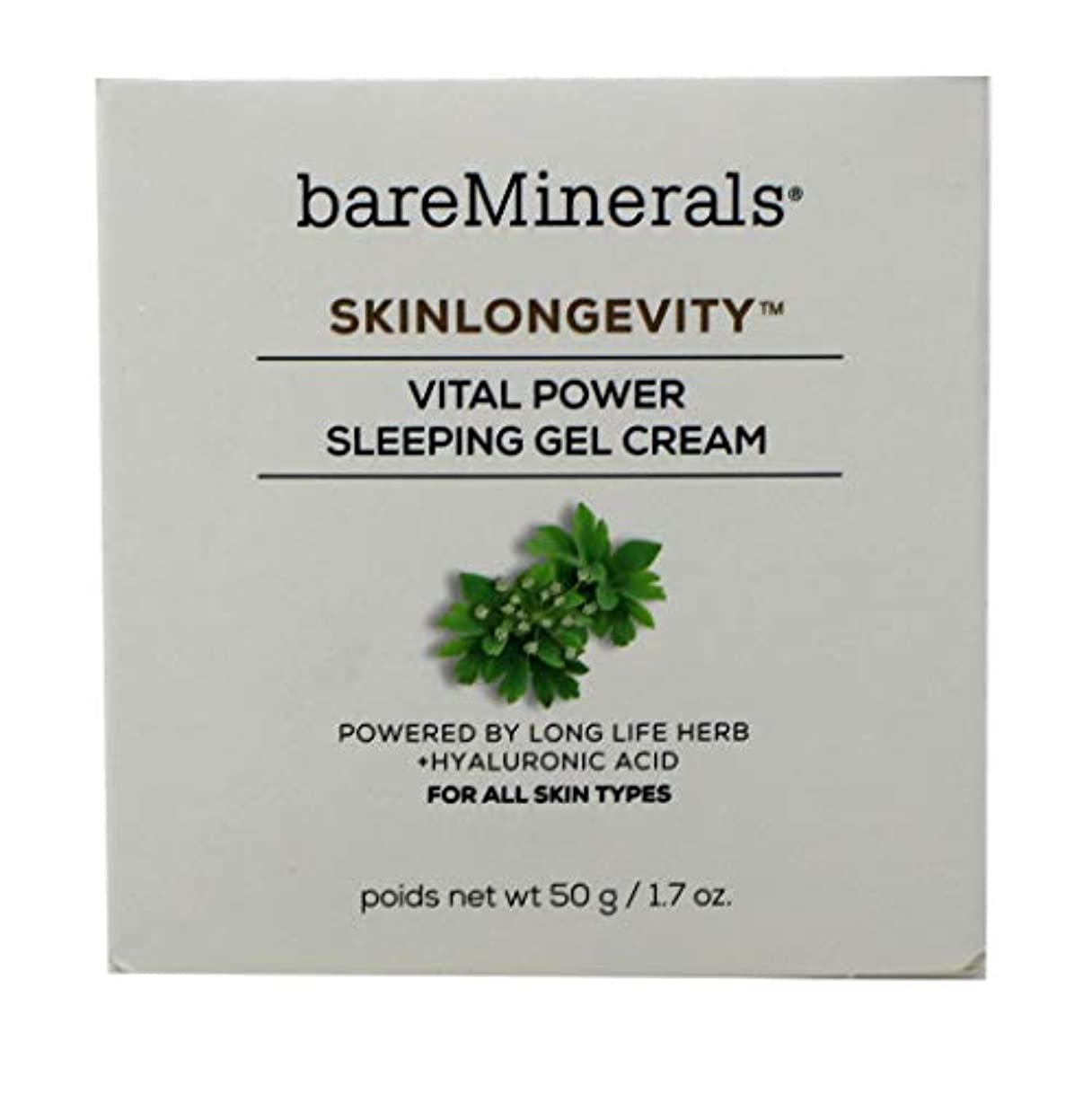 最高日ピケベアミネラル Skinlongevity Vital Power Sleeping Gel Cream 50g/1.7oz並行輸入品