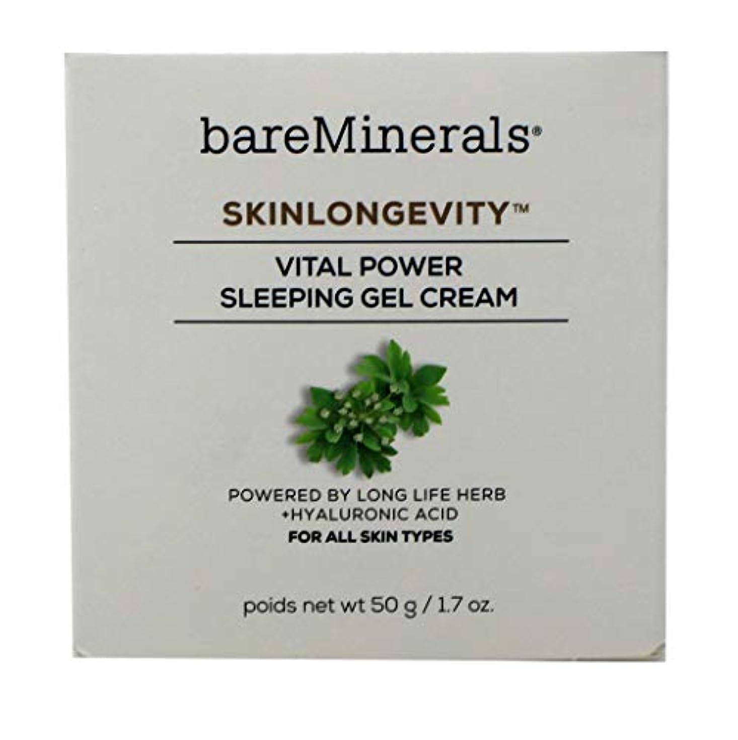 スリンク振り返る海岸ベアミネラル Skinlongevity Vital Power Sleeping Gel Cream 50g/1.7oz並行輸入品