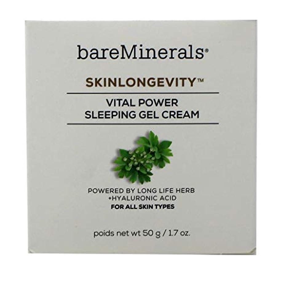 関与する合理化検体ベアミネラル Skinlongevity Vital Power Sleeping Gel Cream 50g/1.7oz並行輸入品