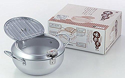味楽亭II 温度計付き フタ付き天ぷら鍋 2枚目のサムネイル
