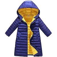 MHYONS Fashion Girl Jackets Children's Autumn Winter Warm Coat Clothing Kid Hooded Thin Cotton-Padded Boys Jacket Kids Coat