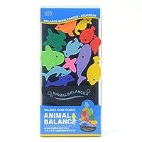 アニマルバランス水族館 ゆらゆら揺れる台の上にバランスよく動物を積み上げよう! シード SEED YR-700S