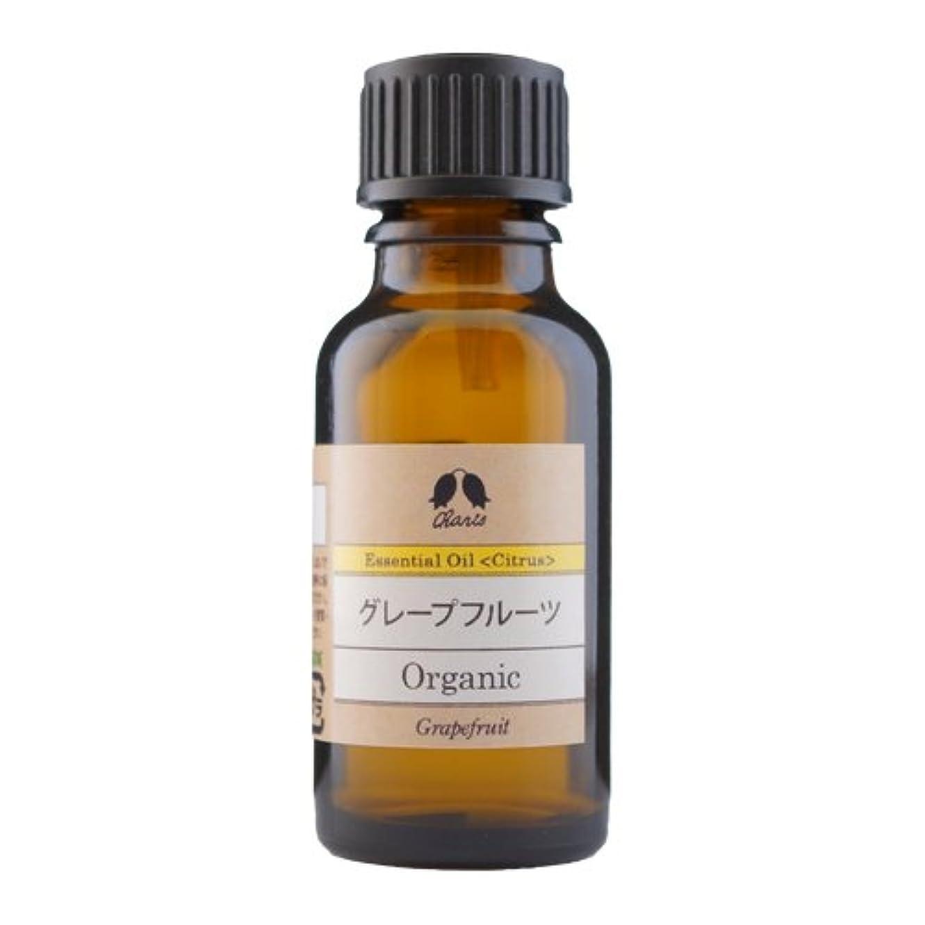 オゾンたらい荷物カリス グレープフルーツ オーガニック オイル 20ml