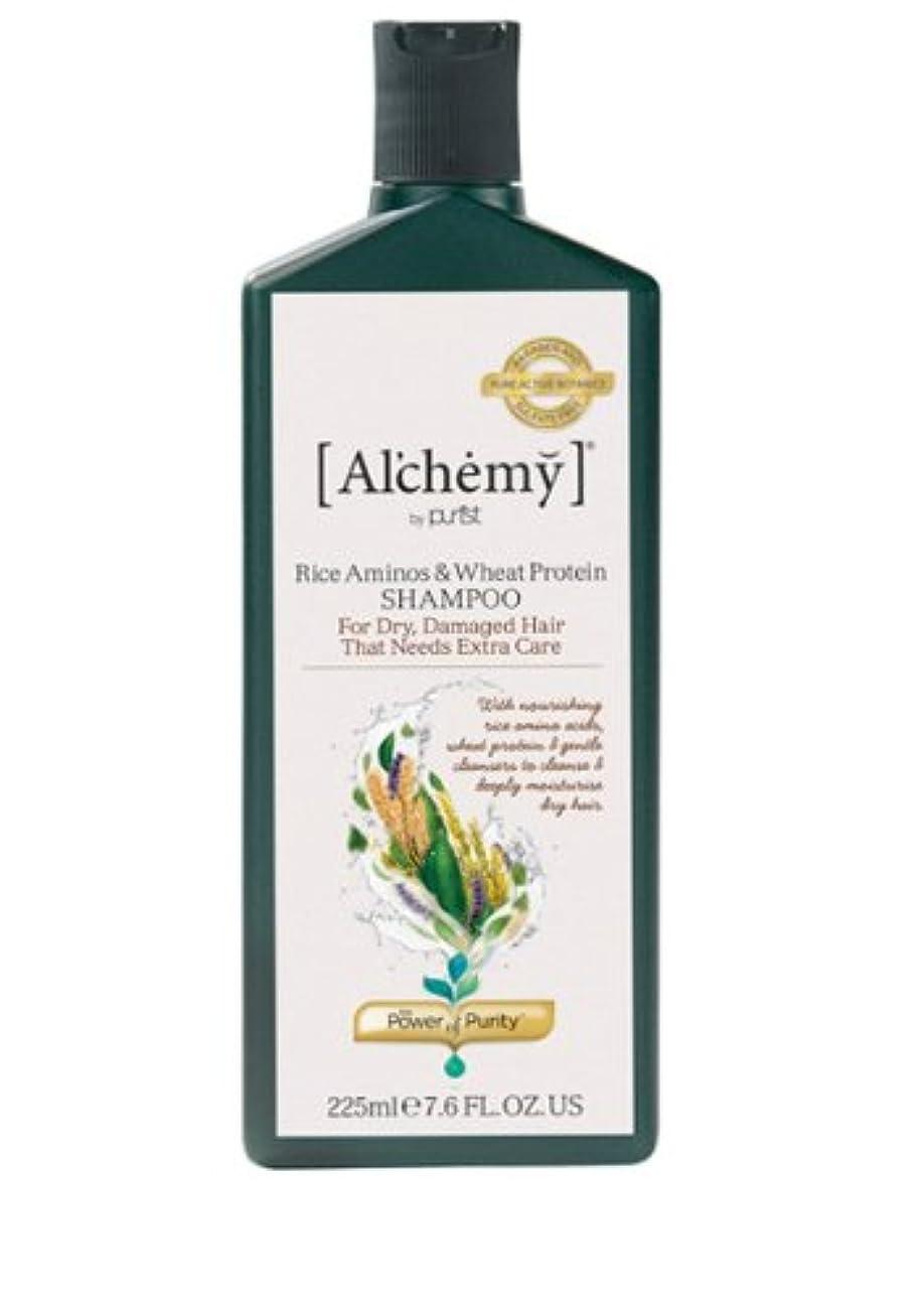上下するすることになっている偽造【Al'chemy(alchemy)】アルケミー ライス アミノス モイスチャーシャンプー(Rice Aminos-Intensive Moisture Shampoo)(ドライ髪用)225ml