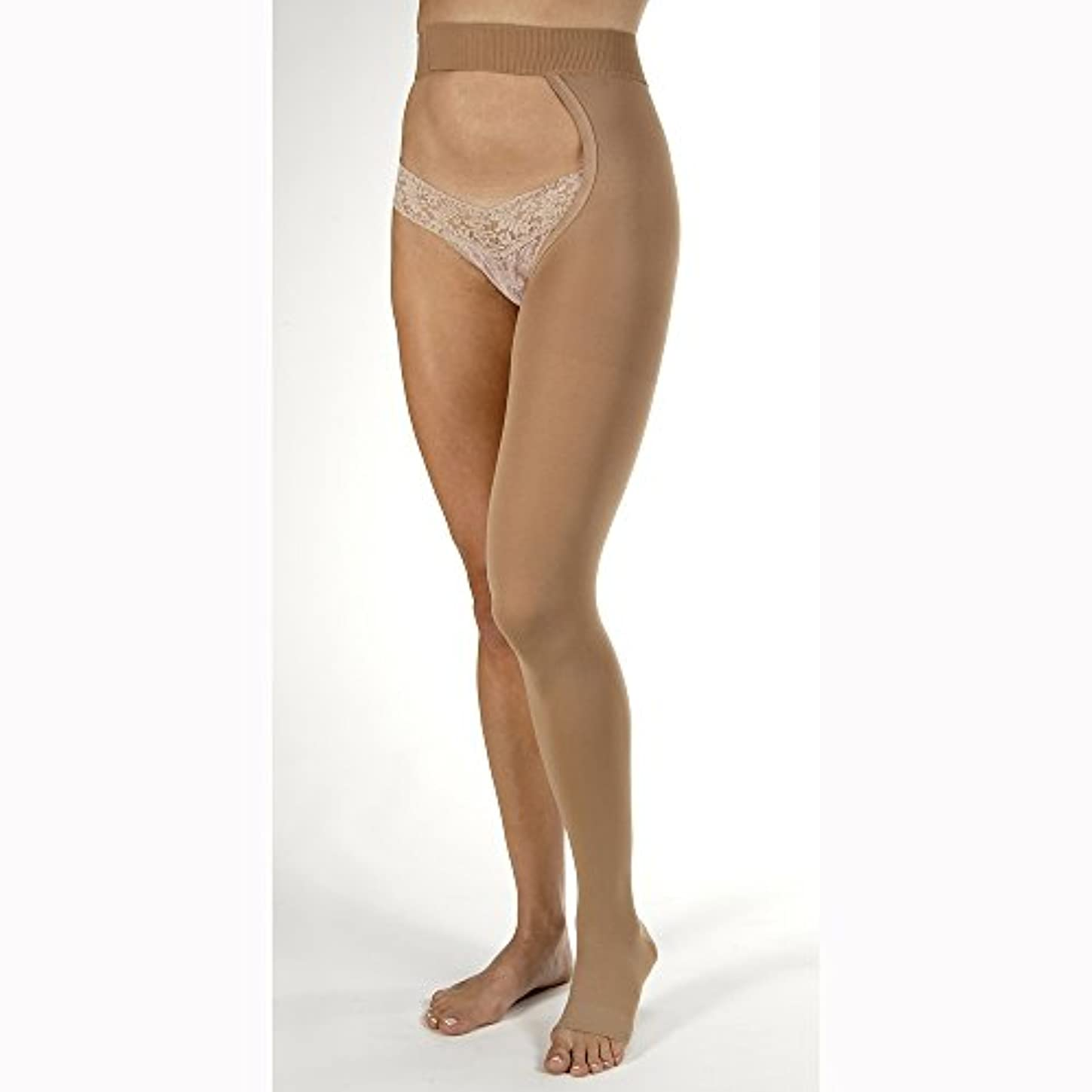 テスピアンかろうじてラメJobst Relief Open Toe Chap Style Right Leg - 30-40 mmHg Beige X-Large 114791 by Jobst