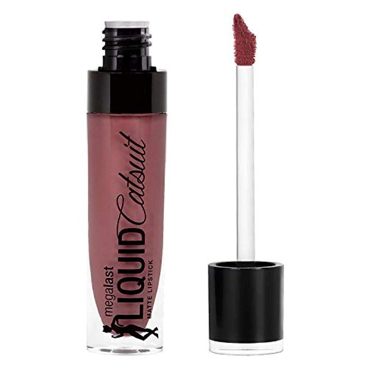 痛み標高テンポWet n Wild Megalast Liquid Catsuit Matte Lipstick, Rebel Rose, 6g