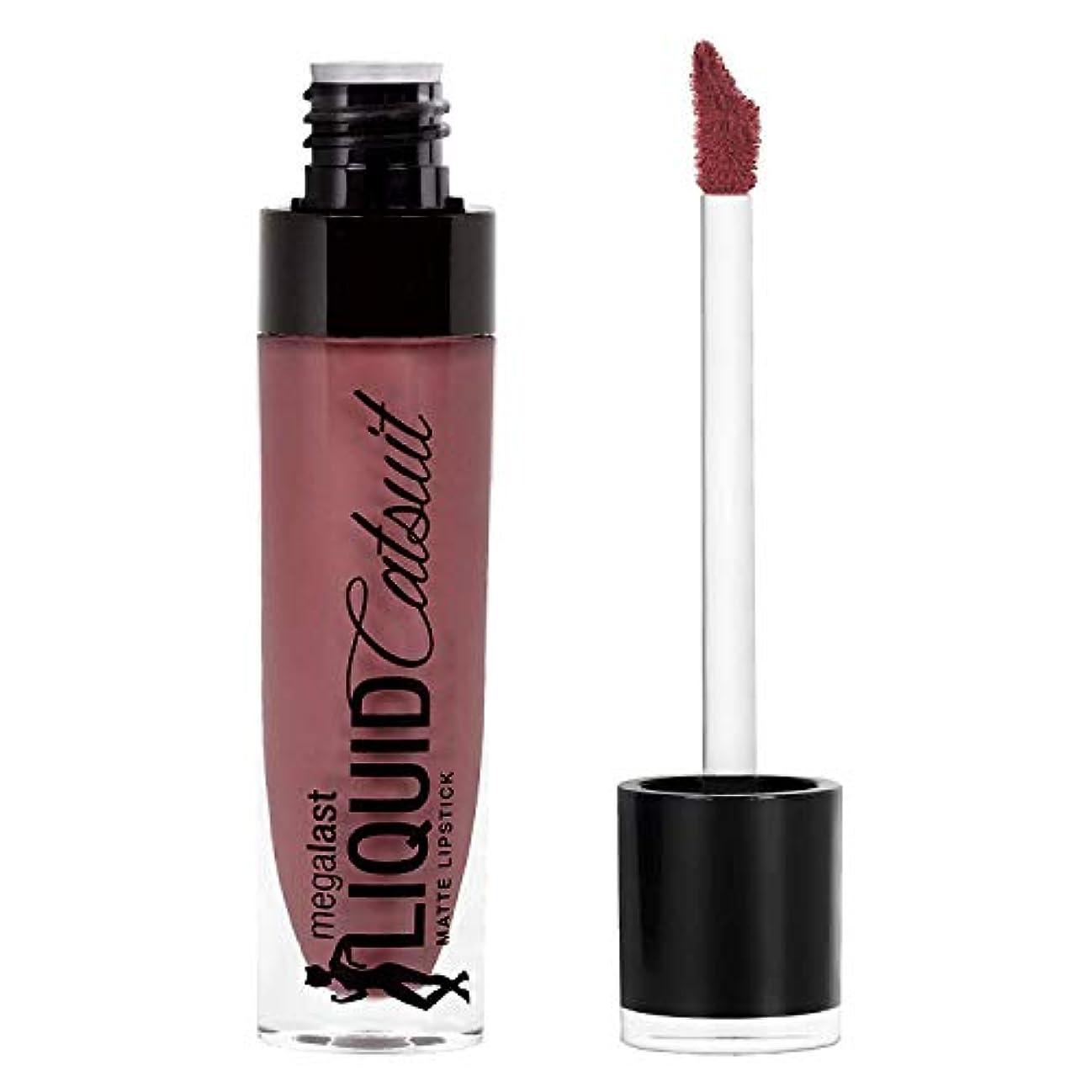失業者葡萄時代Wet n Wild Megalast Liquid Catsuit Matte Lipstick, Rebel Rose, 6g