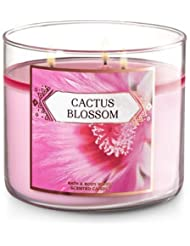 Bath and Body Works 3-wick Scented Candle Cactus Blossom 14.5オンス