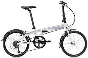 tern(ターン) Link N8 20インチ 2015年モデル 折りたたみ自転車 [8段変速、マッドガード装備] ホワイト/グレー 15LIN8WHGY