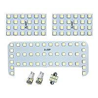 2LOOP(ツーループ) 3チップSMD6点 RAV4 ACA30系 LEDルームランプ -電球色