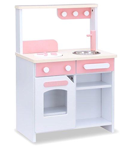 お店屋さんごっこ ままごとキッチン 木製 リバーシブル Cook&store core コア (ノーマル, ピンク)