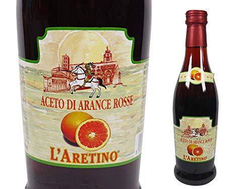 アレティーノ社 ブラッド オレンジ ビネガー 500ml イタリア産