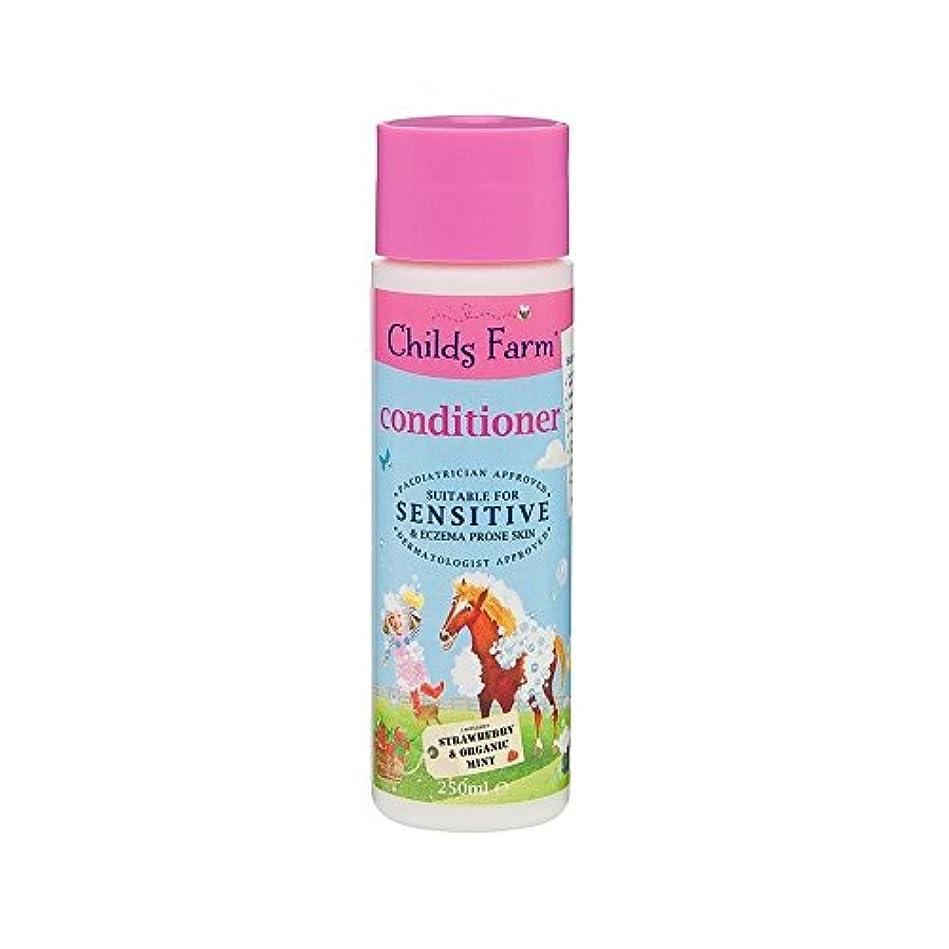 過半数ブランド名十分ではないそのたてがみを飼いならします!手に負えない髪の250ミリリットルのためのコンディショナー (Childs Farm) (x 2) - Childs Farm Tame That Mane! Conditioner for...