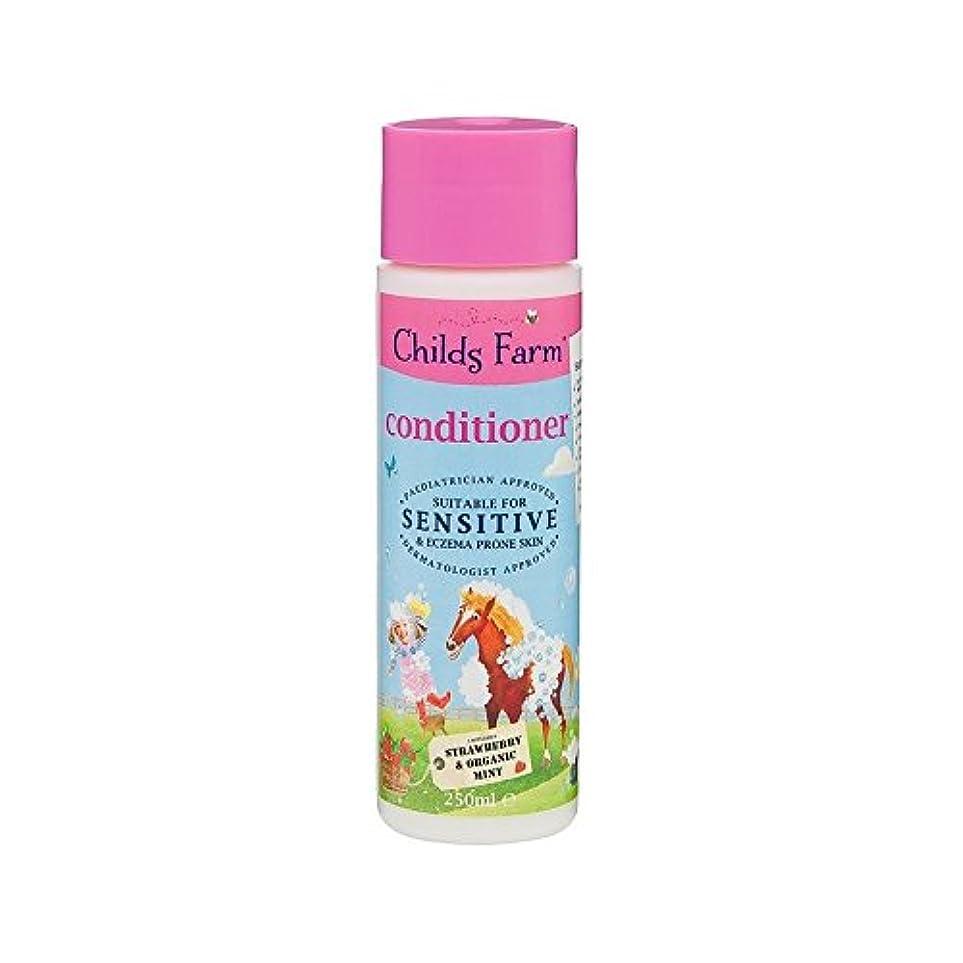 ウェーハ湿原クレーンそのたてがみを飼いならします!手に負えない髪の250ミリリットルのためのコンディショナー (Childs Farm) (x 4) - Childs Farm Tame That Mane! Conditioner for...