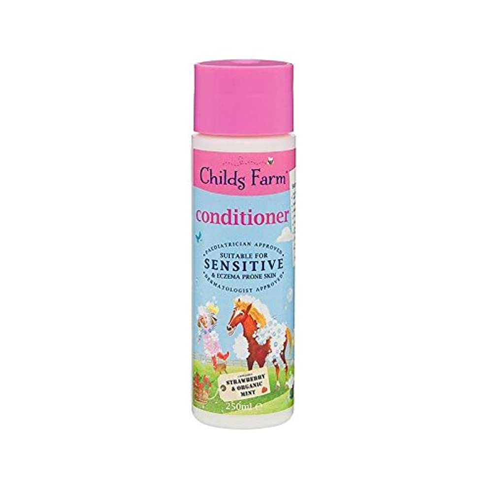 小石寝室を掃除するオールそのたてがみを飼いならします!手に負えない髪の250ミリリットルのためのコンディショナー (Childs Farm) (x 2) - Childs Farm Tame That Mane! Conditioner for...