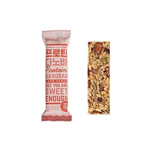 Dano (ダノ) プロテイングラノーラバー 400g(40g×10本) シリアル ダイエット プロテイン ナッツ バー 低糖質 低脂肪 糖質制限 砂糖不使用 大豆 タンパク お菓子 栄養補助食品
