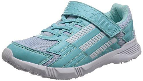 [アディダス]運動靴 KIDS アディダスファイト EL K イージーブルー S17/ランニングホワ...