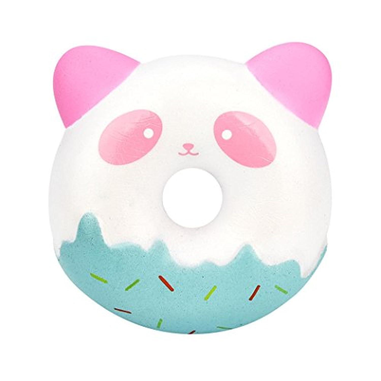 SakuraBest 漫画パンダドーナツの減圧のおもちゃ遅いリバウンドPUおもちゃ (1)
