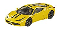 Hot wheels BLY46 Ferrari 458 Italia Speciale Yellow Elite Edition 1/43 Diecast Car Model by Hotwheels [並行輸入品]