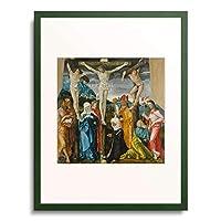 ハンス・バルドゥング 「Crucifixion. 1512」 額装アート作品