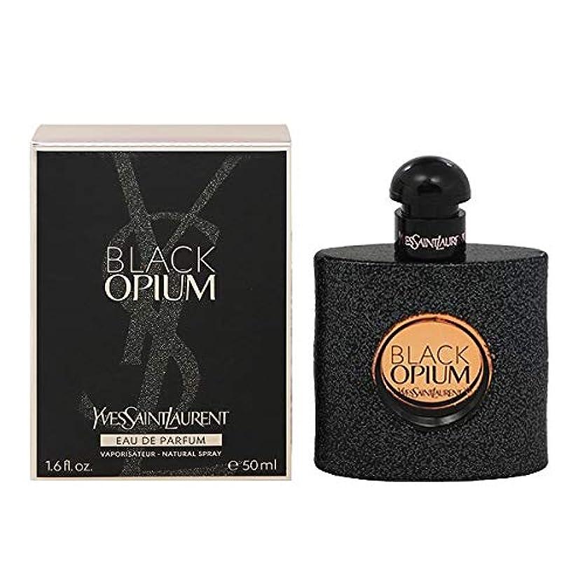姓満員無秩序イヴサンローラン(Yves Saint Laurent) ブラック オピウム EDP SP 50ml[並行輸入品]
