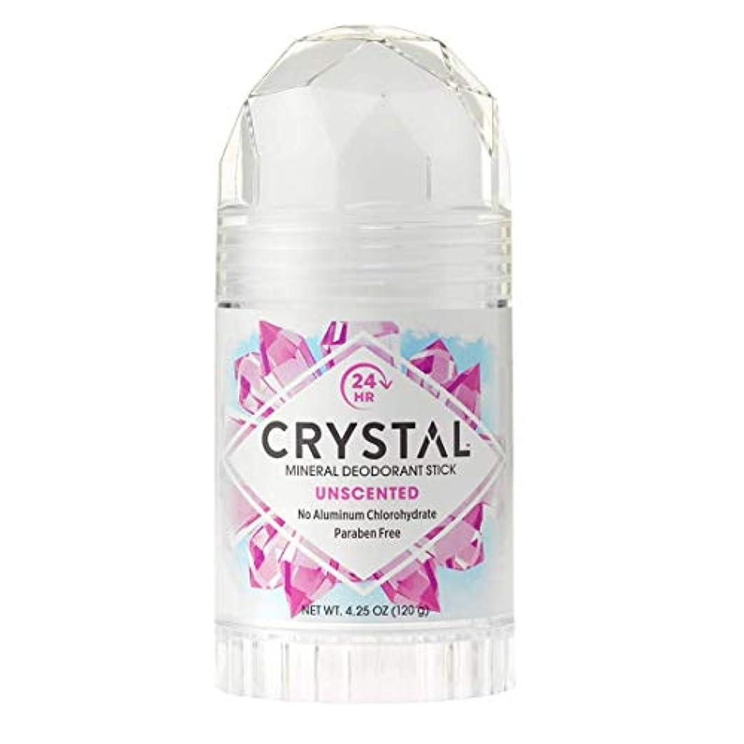 日帰り旅行に欲望ファンドCrystal Deodorant Stick Twist-Up 126 ml (並行輸入品)