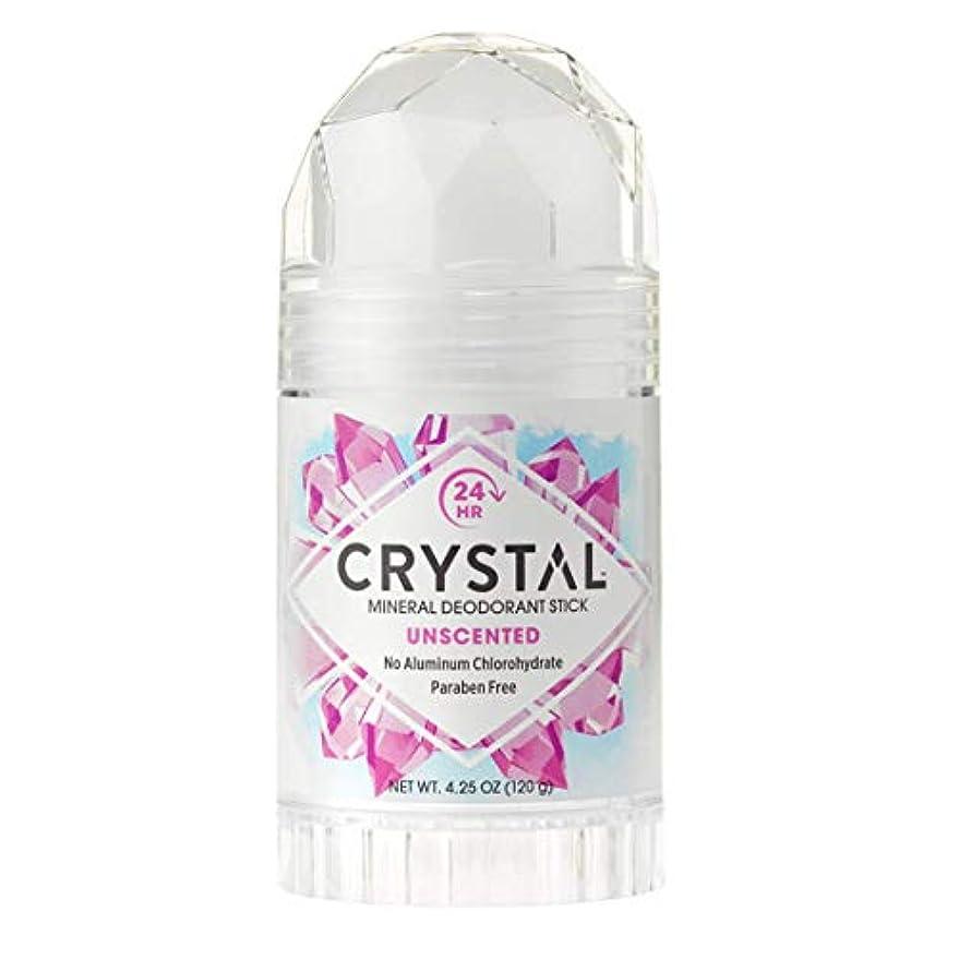 遮るご注意弁護士Crystal Deodorant Stick Twist-Up 126 ml (並行輸入品)