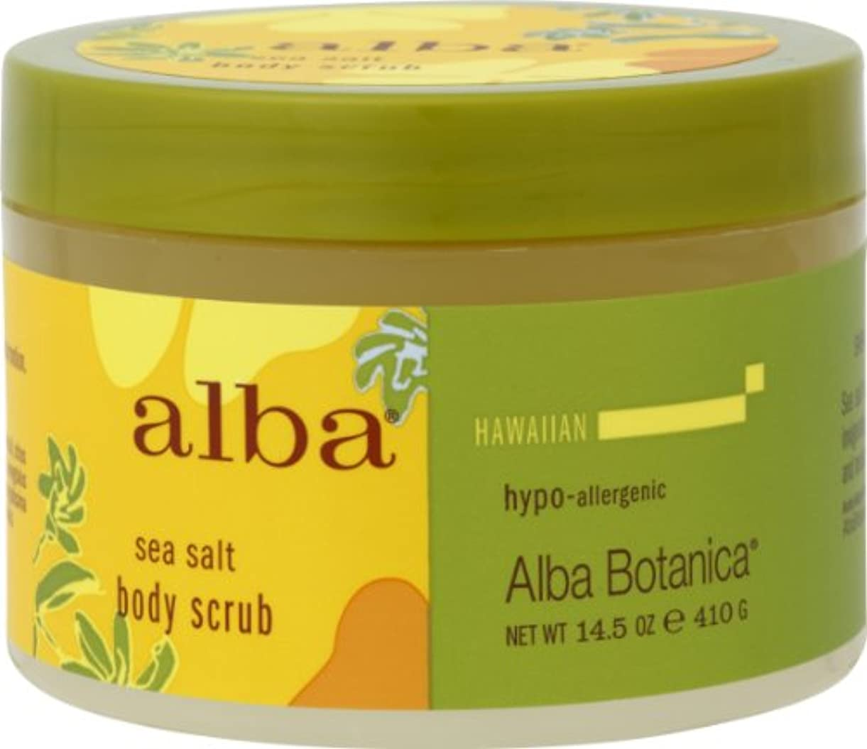 追加する清める情熱alba BOTANICA アルバボタニカ ハワイアン ボディスクラブSS シーソルト