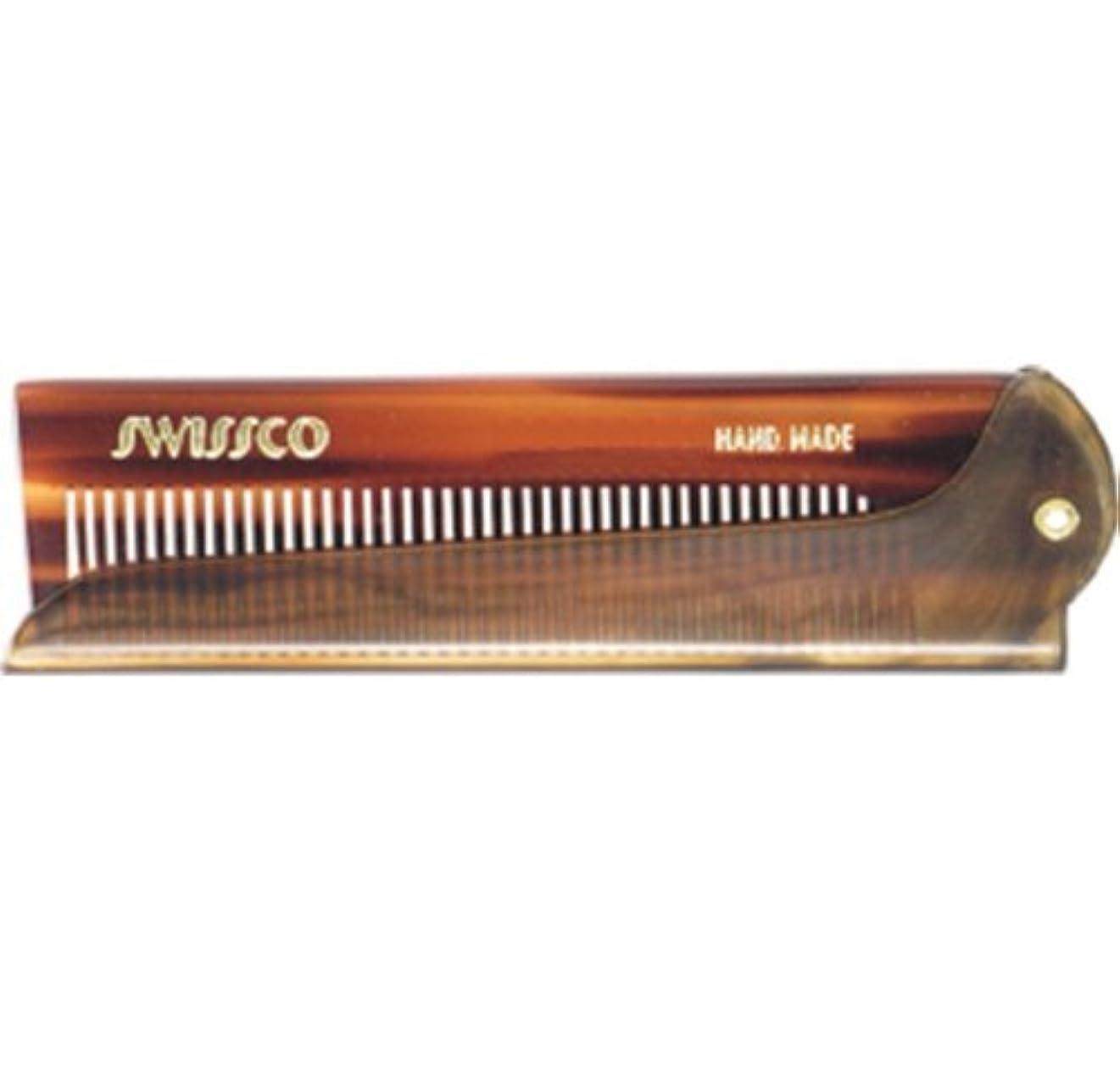 Swissco Tortoise Folding Comb [並行輸入品]
