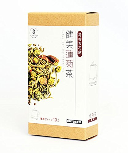 BUYDEEM 健美蓮菊(はすきく) 茶 バイディーム(Buydeem) 95103