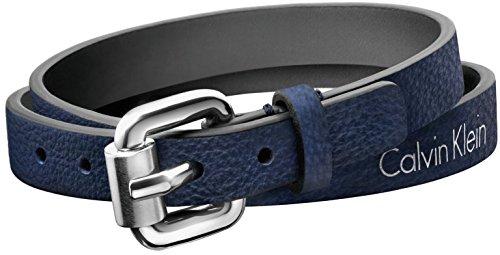 [カルバンクライン] CALVIN KLEIN ブレスレット レザー 2重巻き adventurous(アドベンチュラス) Mサイズ KJ5NLB79030M