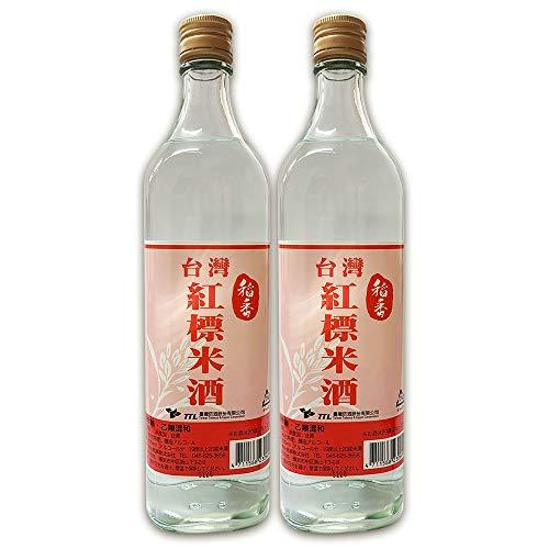 【稲香】 台湾紅標米酒(瓶)600ml / 本 台湾?酒 19.5度 料理酒 2本セット