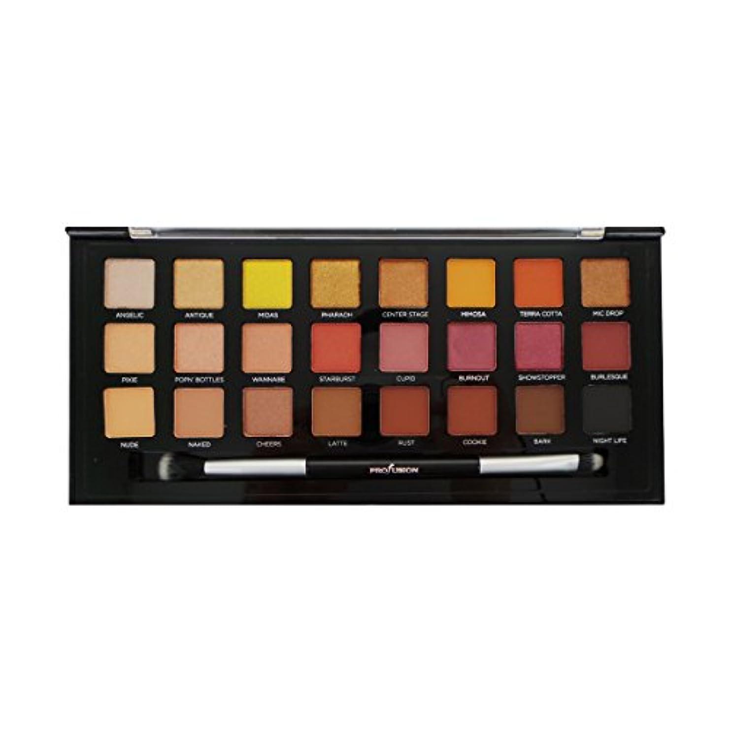 ボーナス確かにガジュマルPROFUSION Glitter & Glam 24 Eyeshadow Palette (並行輸入品)