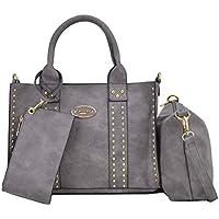 Women Designer Vegan Leather Handbags Fashion Satchel Bags Shoulder Purses Top Handle Work Bags