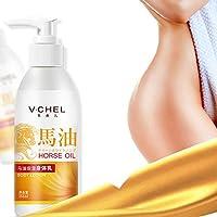 250ML Hokkaido Horse Oil Nourish Body Cream Skin Care Moisturizing Whitening Exfoliating Skin Care Unisex Body Cream