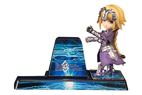 スマホスタンド 美少女キャラクターコレクション No.16 Fate/Grand Order ルーラー/ジャンヌダルク 全高約78mm PVC製 塗装済み完成品 フィギュア