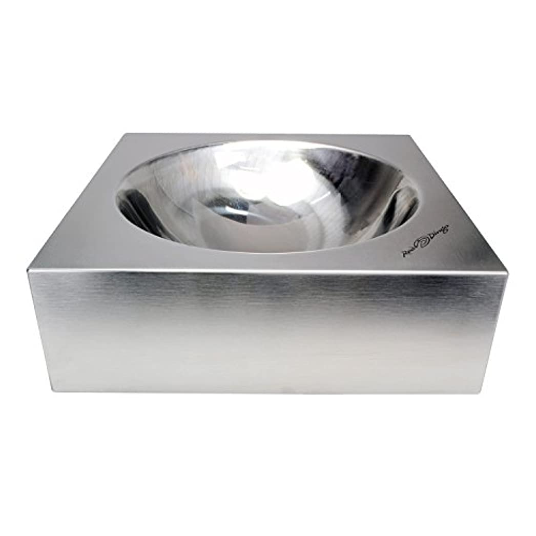 Red Dingo DB-SS-SI-ME Dog Bowl Stainless Steel, Medium
