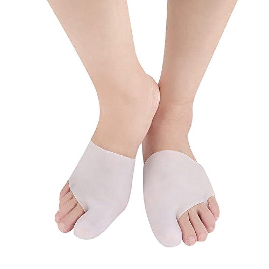 5ペアSEBS腱膜矯正つま先セパレーター補正外反母趾足のケアツール