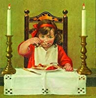 Jessie Willcox Smith Greeting Card:Cleaning the Wishbone (Set of 6 Cards) [並行輸入品]