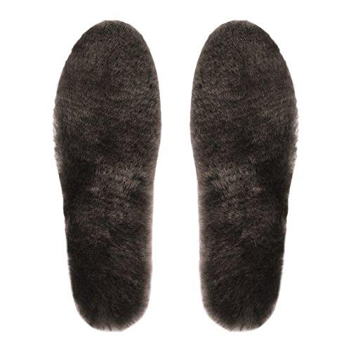 Zhihu 100%天然羊毛保証 あったか極厚ウールインソー...