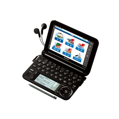 SHARP カラー電子辞書Brain 高校生モデル ブラック系 PW-G5300-B
