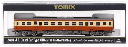 TOMIX Nゲージ 2481 JRディーゼルカー キハ52-100形 (大糸線・キハ52-115)