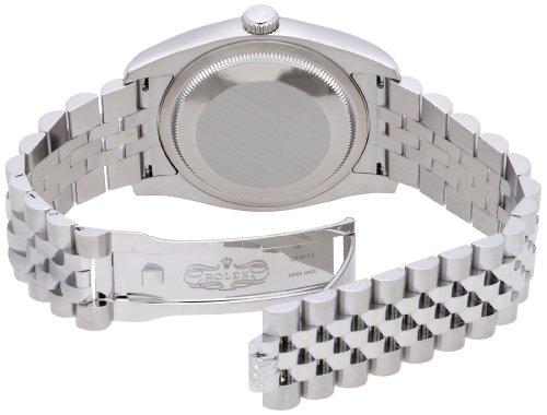 [ロレックス]ROLEX デイトジャスト シルバー文字盤 バーインデックス WG/SSコンビ5列 腕時計 Ref.116234 メンズ 【並行輸入品】