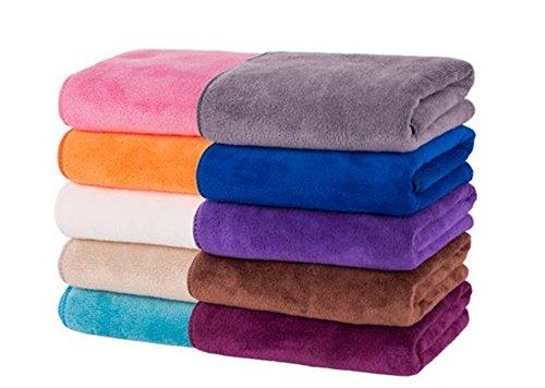 家中のタオルが高級ホテル並みに! 美容サロンも使用 大判タオル 10枚セット...